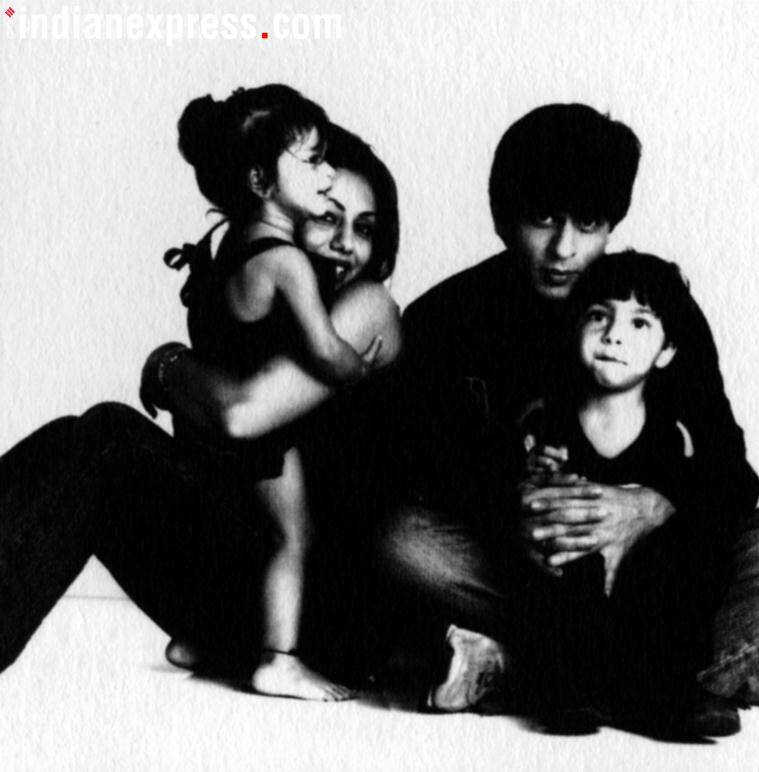 shah rukh khan family photos