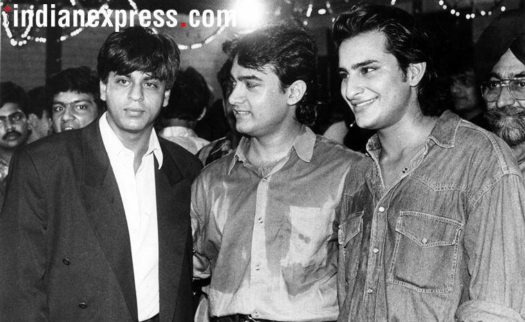 shah rukh khan photos with aamir khan and saif ali khan