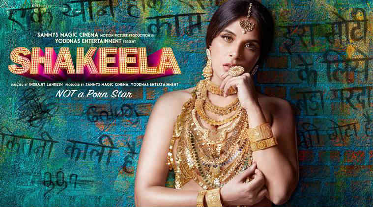 Shakeela First Poster Richa Chadha Looks Fierce  Entertainment News, The Indian Express-9839