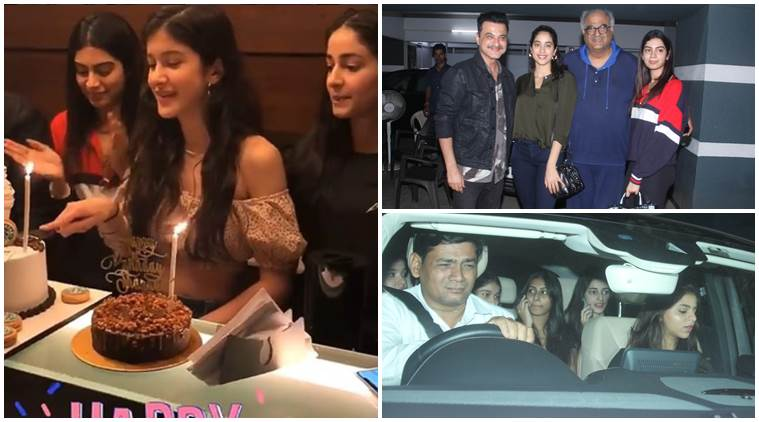 Shanaya Kapoor 19th birthday inside photos