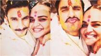 Casting director Shanoo Sharma shares photos from Ranveer Singh's haldi ceremony