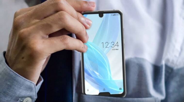 Sharp Aquos R2 Compact, Sharp Aquos R2 Compact price, Sharp Aquos R2 Compact features, Sharp Aquos R2 Compact specifications, two notch phone, phone with dual notch, mobile with two notches, Sharp Aquos R2