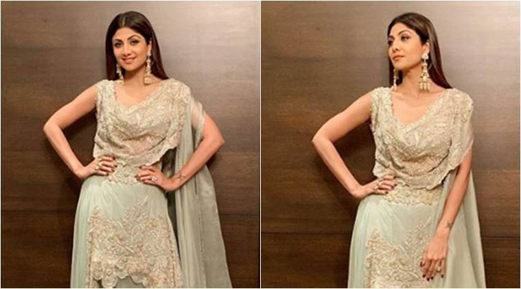 shilpa shetty, shilpa shetty diwali, shilpa shetty diwali photo, shilpa shetty diwali recent photo, shilpa shetty instagram, indian express, indian express news