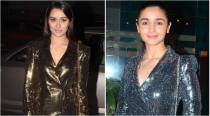 Shraddha Kapoor or Alia Bhatt: Who wore the shimmery sequin wrap-around Zara dress better?