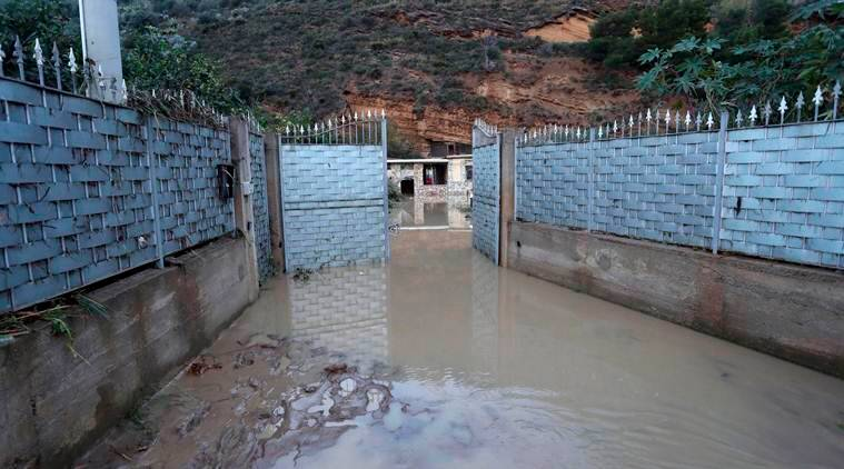 Sicily floods, storm in Sicily, Italy flood in Italy, killed in floods, Italy news, World news, natural calamity, natural disaster, global news, indian express