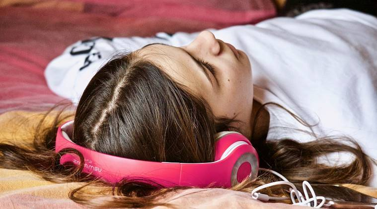 sleep loss, healthy sleep, music and sleep, music for sound sleep, study on sleep and music, ways to sleep healthy, indian express news, indian express