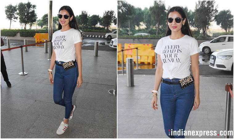 Deepika Padukone, Kangana Ranaut, Priyanka Chopra, Sonal Chauhan, Sara Ali Khan, Deepika Padukone airport fashion, Kangana Ranaut airport fashion, Priyanka Chopra airport fashion, celeb fashion, bollywood fashion, airport fashion bollywood, latest airport fashion, indian express, indian express news