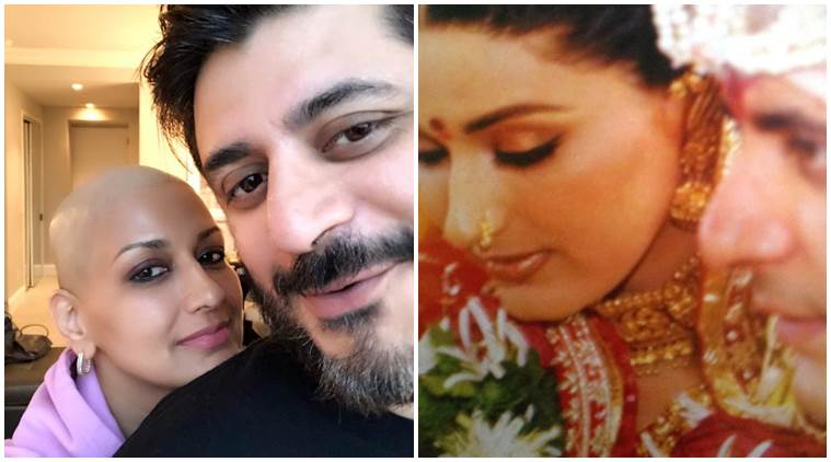 Sonali Bendre note for Goldie Behl on 16 wedding anniversary