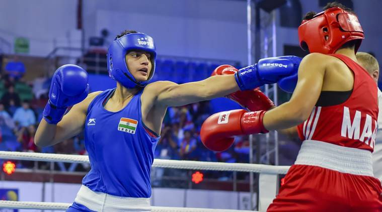Sonia enters pre-quarters of world boxing championship