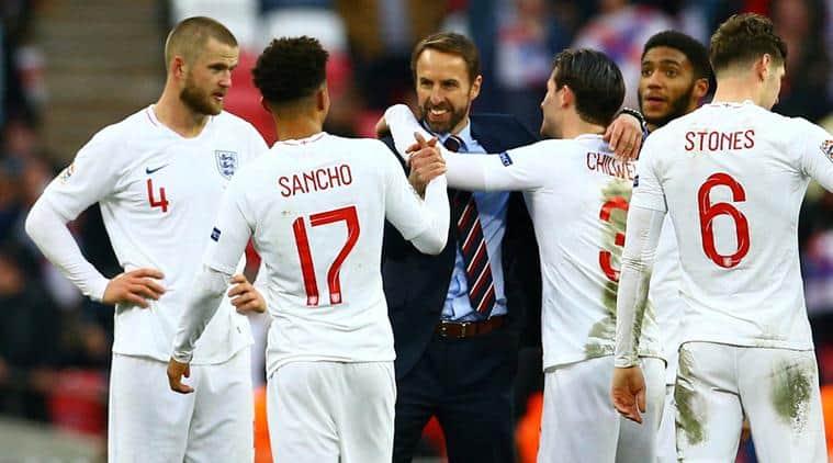 Gareth Southgate lauds England's unprecedented 2018