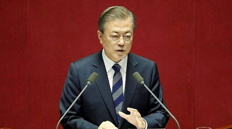 Moon calls for swift resumption of U.S.-North Korea talks