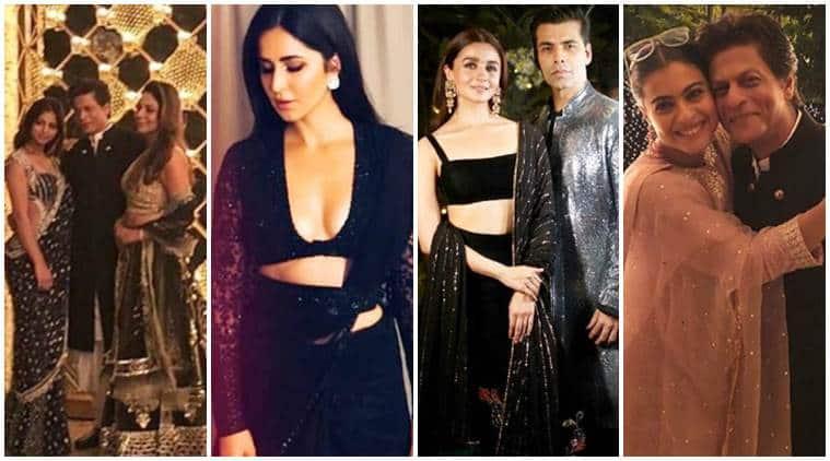Shah Rukh Khan's Diwali party: Alia Bhatt, Katrina Kaif, Kajol and others in attendance
