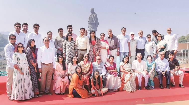 statue of unity, statue of unity inauguration, Narendra Modi, statue of unity in gujarat, statue of unity location, statue of unity height, statue of unity cost, statue of unity images, sardar patel statue, sardar vallabhai patel statue, Indian express