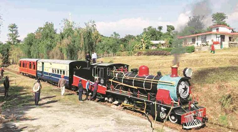 After two decades, steam engine train's commercial run on Kangra Valley line