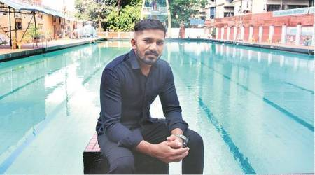 26-year-old teaches swimming in Mumbai, his only instruction: 'keepkicking'