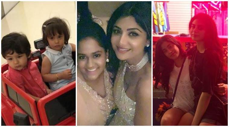 Taimur Ali Khan, Shilpa Shetty, Khushi Kapoor social media photos