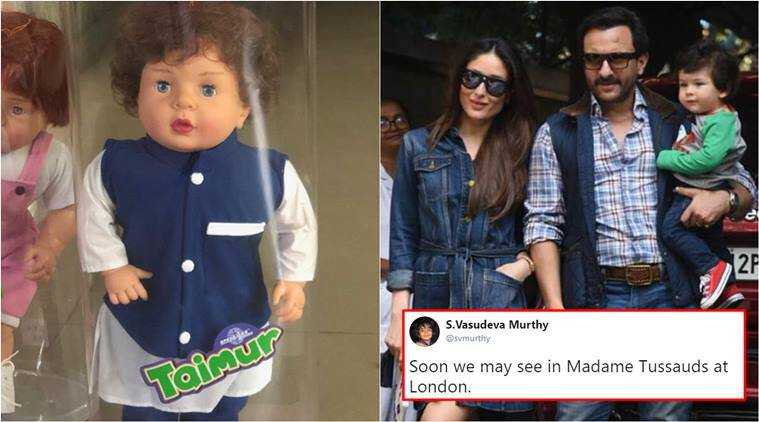 Maybe I Should Trademark His Name: Saif Ali Khan on Taimur Doll