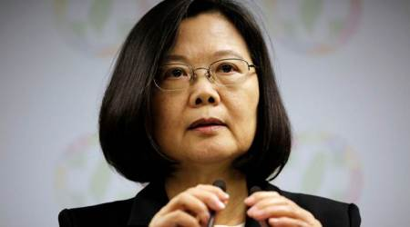 Taiwan says China sending planes near island almost daily