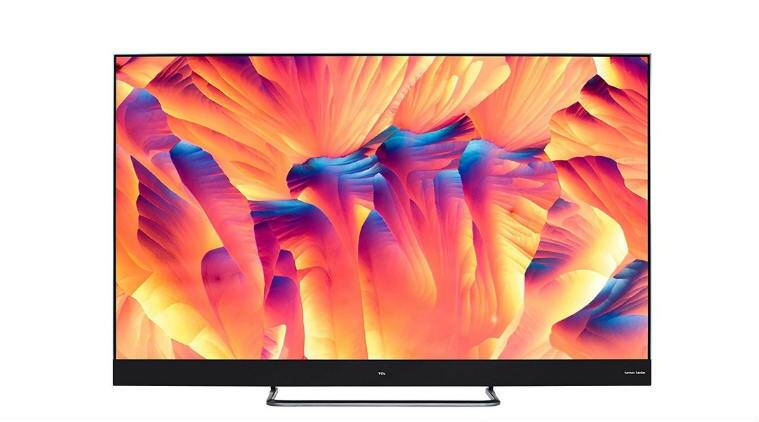 Tcl Unveils 65 Inch 4k Qled Android Tv With Built In Harman Kardon