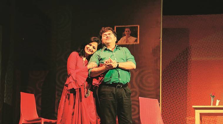 Play Ek lagnachi Ghost, Marathi theatre, sequel Ek lagnachi Ghost, theatre, indian Express