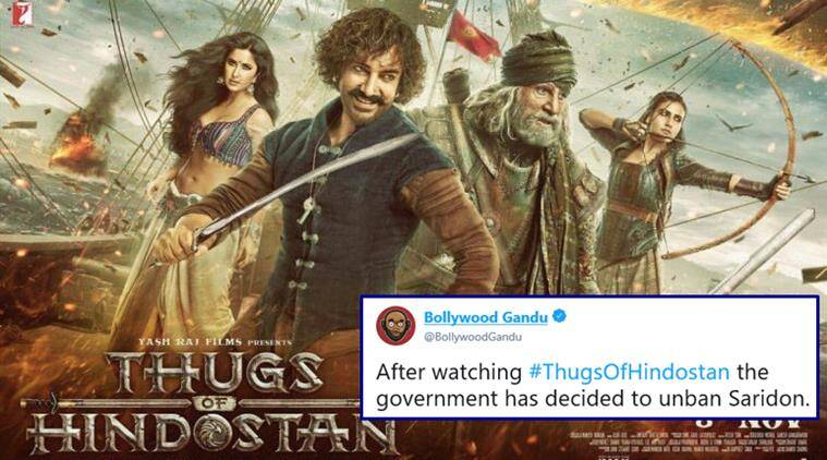 Image result for thugs of hindostan memes