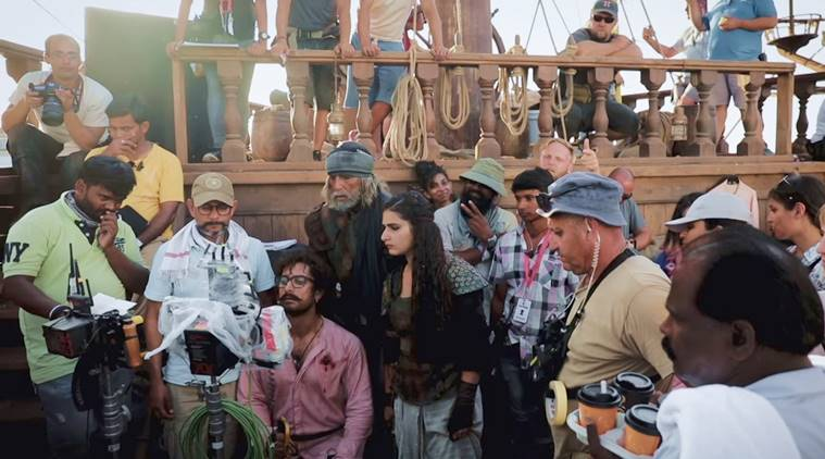 Thugs of Hindostan shooting