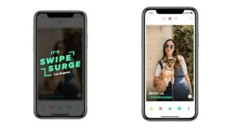 Tinder Swipe Surge, Swipe Surge featur2e in Tinder, Tinder app updates, Facebook dating app, Swipe Surge Tinder feature, Tinder active users, dating on Facebook, latest Tinder feature, top dating apps, Tinder matches, Tinder news