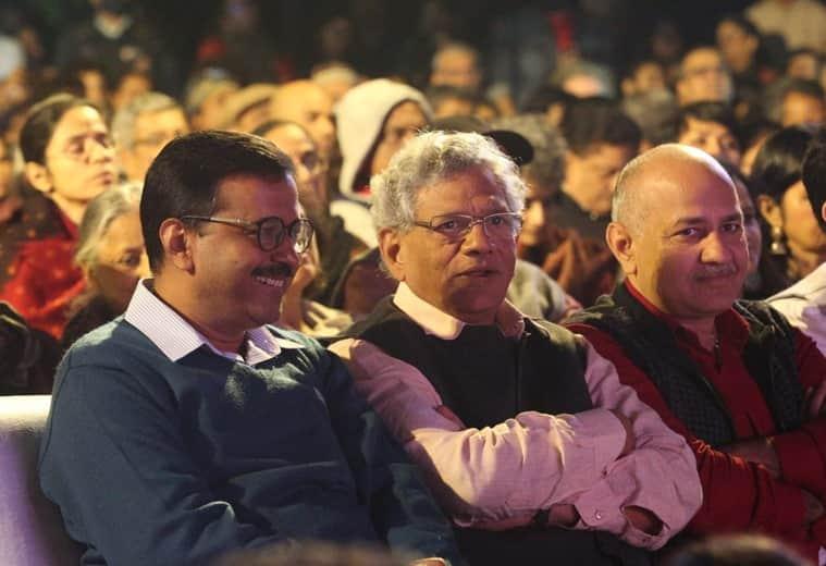 TM Krishna, TM krishna concert, tm krishna concert cancelled, tm krishna concert cancelled by aai, tm krishna concert postponed, Arvind Kejriwal, Manish Sisodia, Delhi CM, delhi news, Indian express