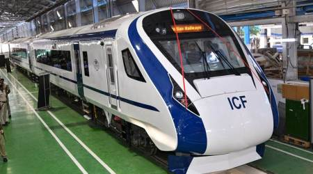 Indian Railways' fastest 'Train 18' pelted with stones during trial run
