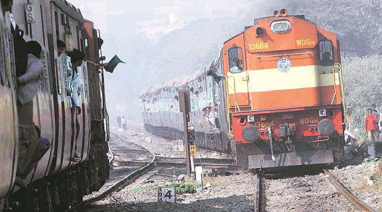 Railways, stone pelting on trains, railway tracks, Chinchwad-Akurdi, Ghorpadi Saswad stretches, latest news  Indian Express