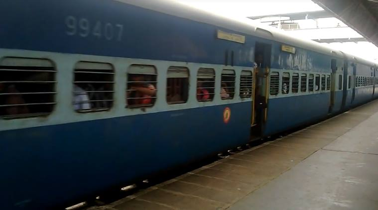 train accident, baby saved train accident, child saved train run over, child escape unhurt, miracle accident saved, viral video indian express