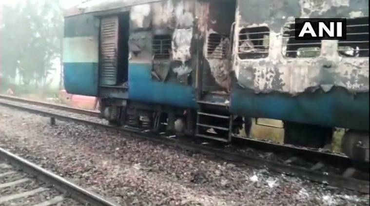 Passengers evacuated after fire breaks out in Kalka-Horwah train, no casualties