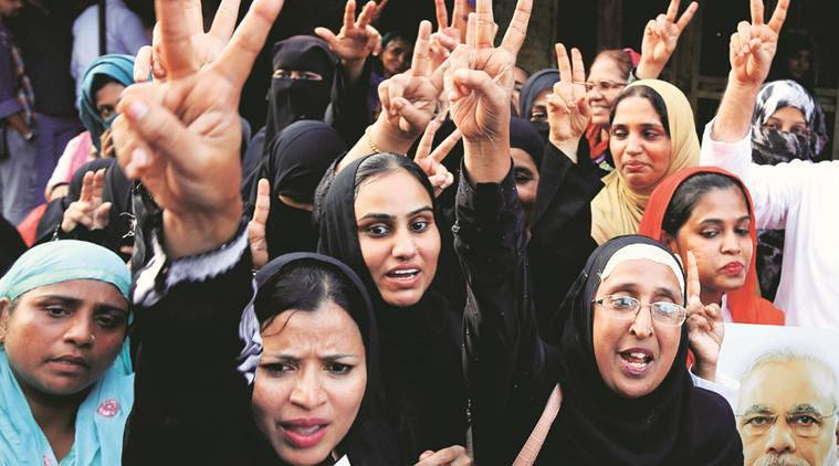 triple talaq bill, triple talaq bill parliament, triple talaq bjp, aimplb triple talaq, triple talaq ordinance, triple talaq owaisi, triple talaq divorce, muslim triple talaq, bjp aimplb, india news, indian express