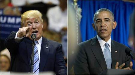 Barack Obama, Donald Trump offer dueling final pitches to midterm voters ahead of US elections