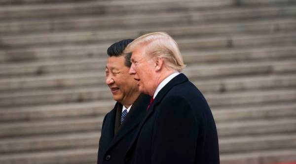 Chinese President Xi Jinping with his US counterpart Donald Trump. (NYT/File)