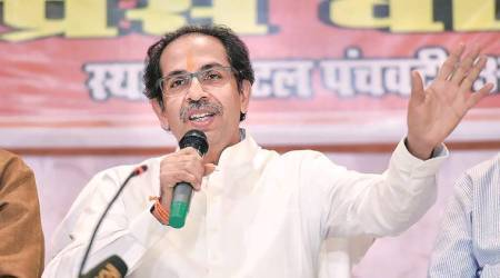 Shiv Sena attacked Modi, Shiv Sena criticized PM's remark, PM's remark on ram temple, Ram Temple, construction of Ram Temple in Ayodha, Maharashtra, Mumbai News, Indian Express