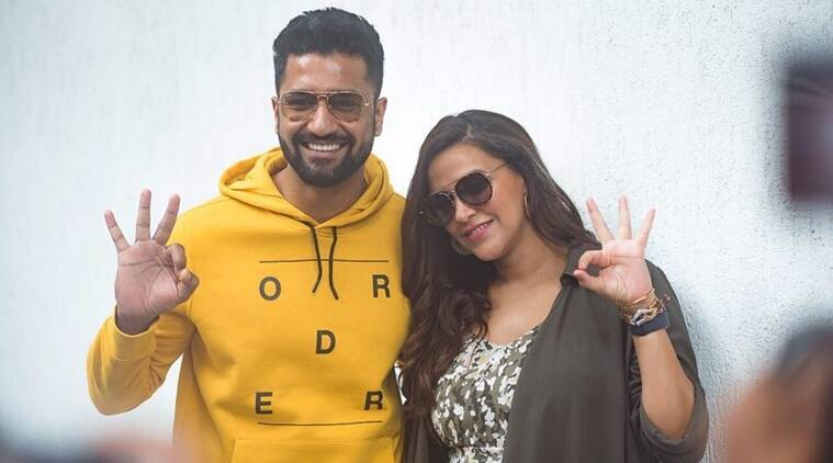 vicky kaushal no filter neha