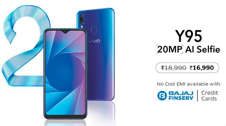 Vivo Y95 with Snapdragon 439 processor, Halo FullView display
