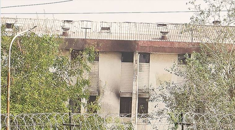 fire at reliance industries, Fire at Polybutadiene Rubber plant, fire in vadodara, three killed vadodara fire, Indian Express