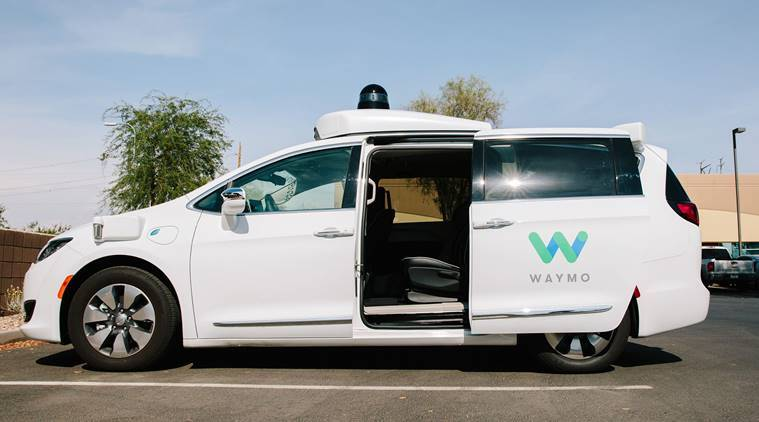 Waymo could launch its first driverless car service in December