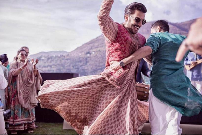 ranveer singh dance on mehendi