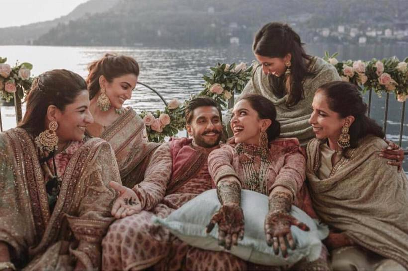 deepika ranveer family photos from mehendi ceremony