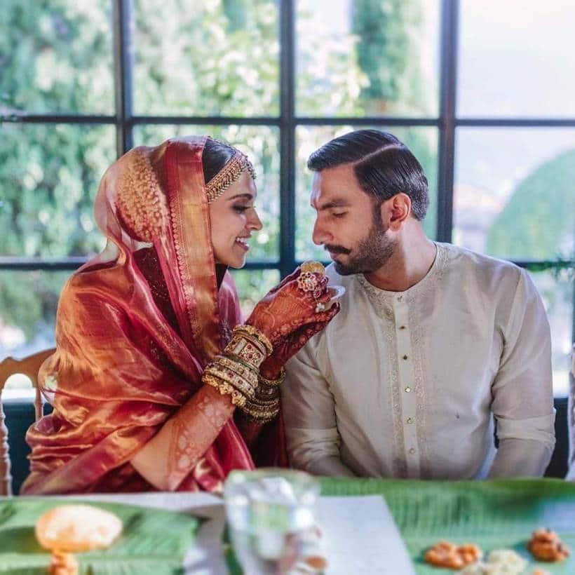 deepika padukone ranveer singh south indian wedding food