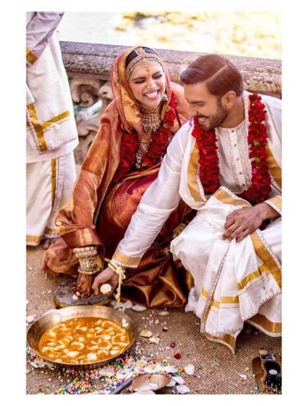 deepika padukone ranveer singh south indian wedding games