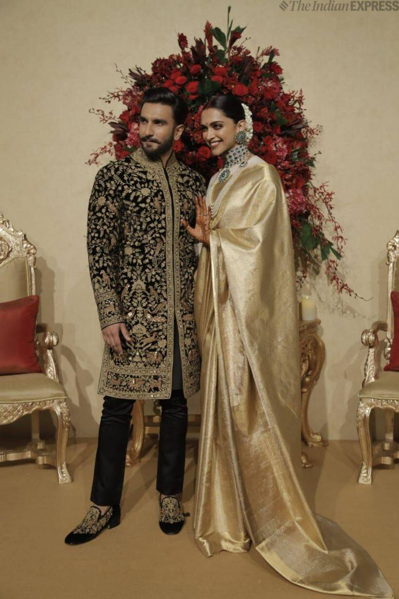 Ranveer deepika are now married