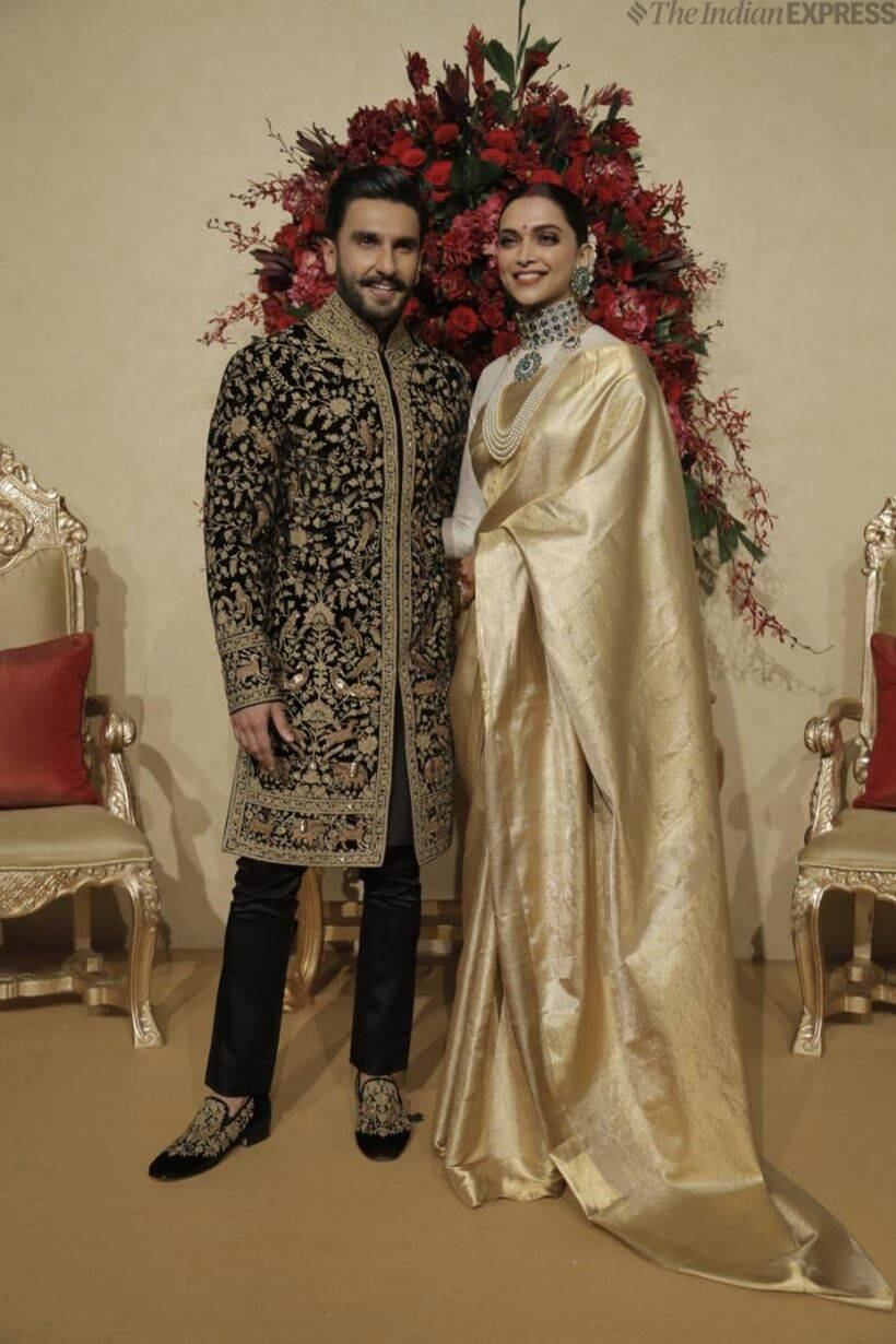deepika ranveer wedding reception