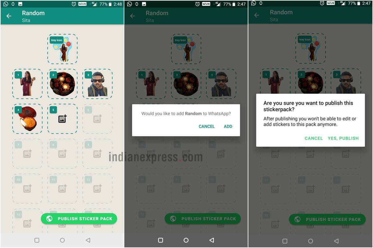 Whatsapp stickers: now create and send your own custom stickers