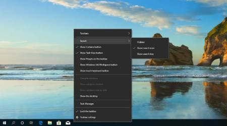 Windows 10, Windows 10 19H1 update, Cortana on Windows 10, latest Windows 10 updates, Windows 10 Search bar, Cortana digital assistant, search with Cortana, Microsoft Cortana, Microsoft Windows, Windows news