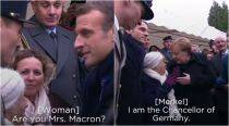 WATCH: 101-year woman confuses Angela Merkel for Emmanuel Macron's wife; video goes viral