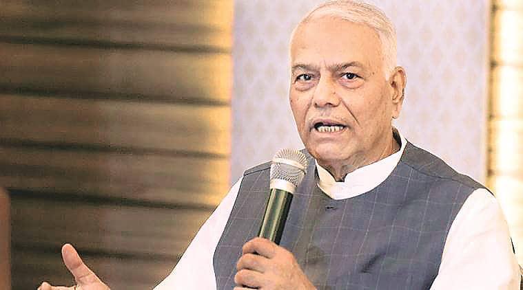 'Forcibly' sent back to Delhi from Srinagar, alleges Yashwant Sinha